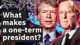 US election 2020: what Trump (and Biden) can learn from one-term presidents