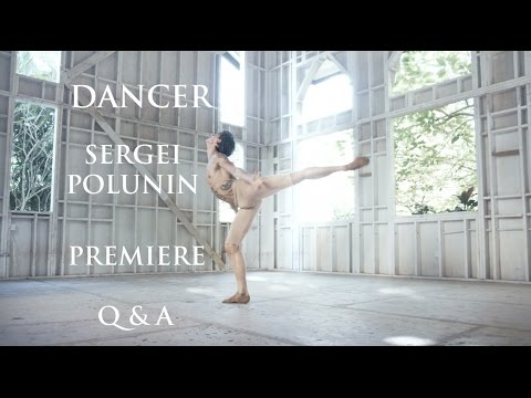 Dancer Sergei Polunin Q&A after premier in Los Angeles