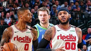 Portland Trail Blazers vs Dallas Mavericks - Full Highlights | January 17, 2020 | 2019-20 NBA Season