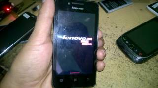Lenovo A319 stuck on Logo display - How to Dead Recover OR