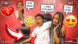 MYA CAUGHT BAM & TONI IN THE ROOM WITH DOOR LOCKED!!💔