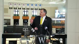 FULL VIDEO: Wofford introduces Jay McAuley as new head coach