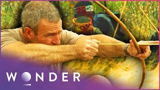 This Desert Tribe Crawl Into Animal Burrows To Hunt Them | Man Hunt S1 EP4 | Wonder