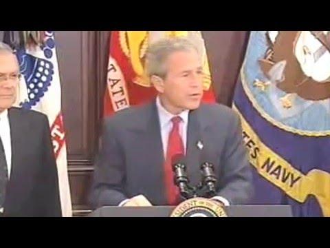 Еве еден клип за Џорџ Буш пред пензионирање