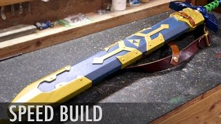 Breath of the Wild Sword Scabbard -  Zelda Speed Build