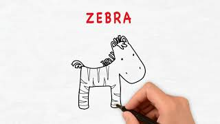 Learn your animals (Sounds, spelling, drawing picture)