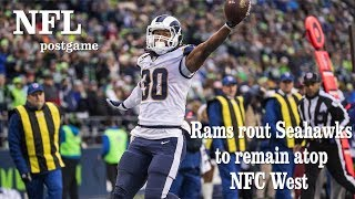 Rams Rout Seahawks to Remain Atop NFC West | Los Angeles Times