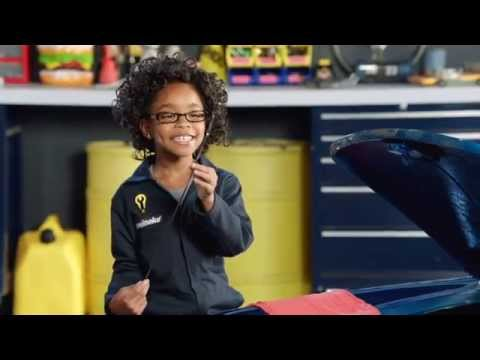 Oil Change Commercial 2014 │ Kid Mechanic │ Meineke