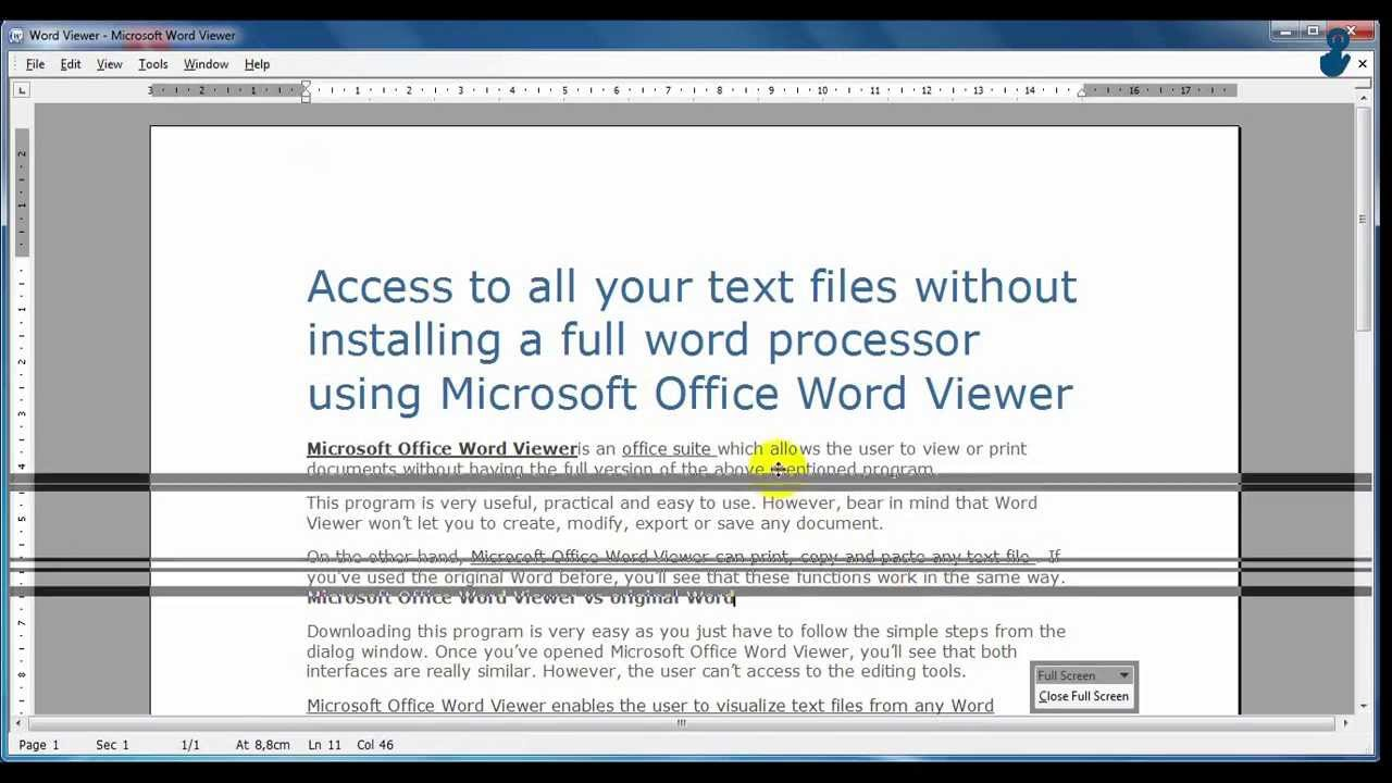 Word File Viewer in Gmail