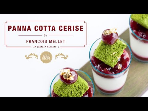 Panna Cotta Cerise - Qzina