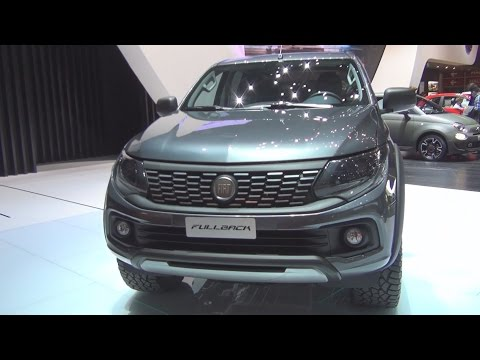 Fiat Fullback (2016) Exterior and Interior in 3D