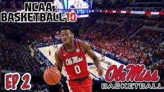 A NEW BEGINNING!! | NCAA Basketball 10 OLE MISS Dynasty Ep  2
