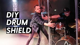 $500 DRUM ISOLATION BOOTH FOR WORSHIP BANDS