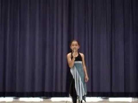 Hurt Christina Aguilera Talent Show 9 year old singer