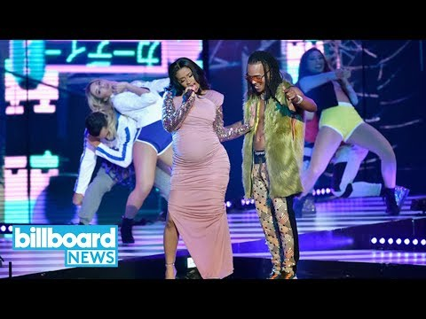 Ozuna & Cardi B Give Epic Performance of 'La Modelo' at Billboard Latin Music Awards| Billboard News
