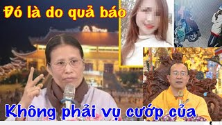 Trụ Trì Chùa Ba Vàng đem vụ Nữ sinh giao gà ở Điện Biên lên nói tiền kiếp để thu lợi