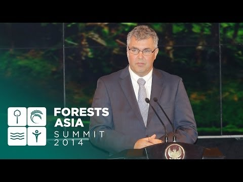 Forests Asia Summit 2014 – Peter Holmgren, Day 1 Opening Address