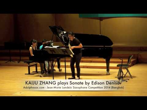 KAIJU ZHANG plays Sonate by Edison Denisov