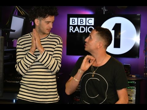 Matty Healy from The 1975 co-hosts The BBCR1's Breakfast Show // PART 1