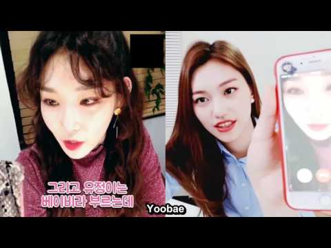 [ENG] Chungha and Doyeon's concurrent broadcasts