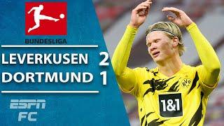Down goes Dortmund! Moussa Diaby & Florian Wirtz outduel Erling Haaland & Gio Reyna | ESPN FC