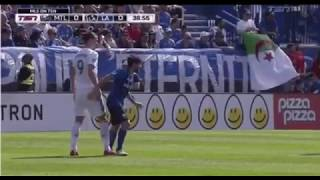 ابراهيموفيتش يصفع لاعب | ويطرد في الدوري الامريكي     -