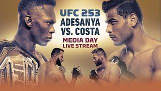 UFC 253 Media Day Live Stream - MMA Fighting
