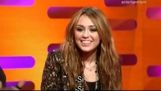 The Graham Norton Show Jack Whitehall, Miley Cyrus y Usher Parte1 subtitulado en español