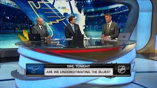 NHL Tonight:  St.Louis Blues:  Are the Blues an underestimated team?   Apr 1,  2019