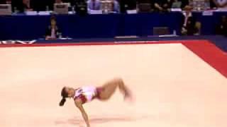 Oksana Chusovitina 2006 Worlds AA Floor