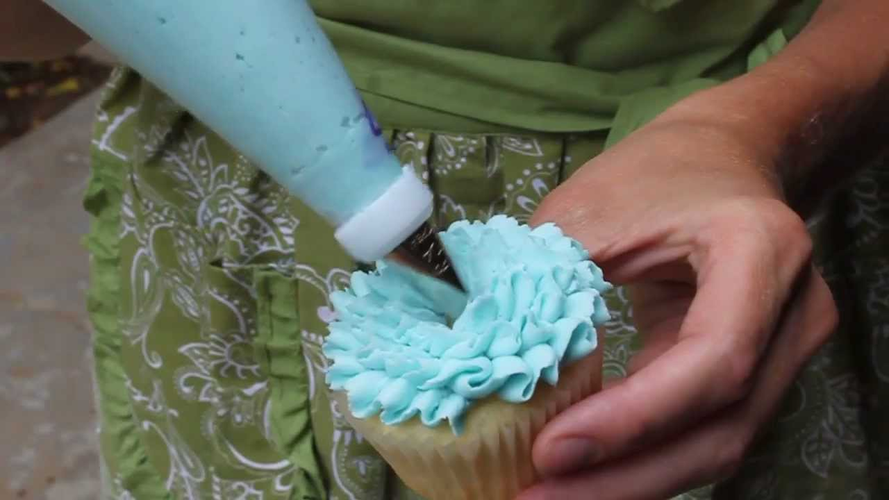 Easy Cake Icing Methods: Easy Cupcake Frosting Technique