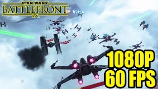 X-Wing vs Tie Fighter! - Star Wars Battlefront Beta Dogfight Highlights