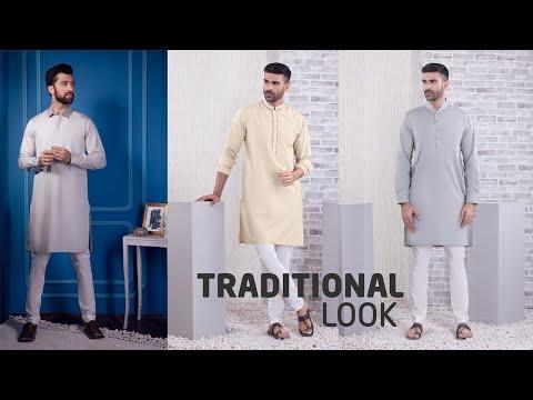 Menswear - Men's Eastern Wear - Kurta - Kameez Shalwar - Waistcoat - BuyZilla.pk