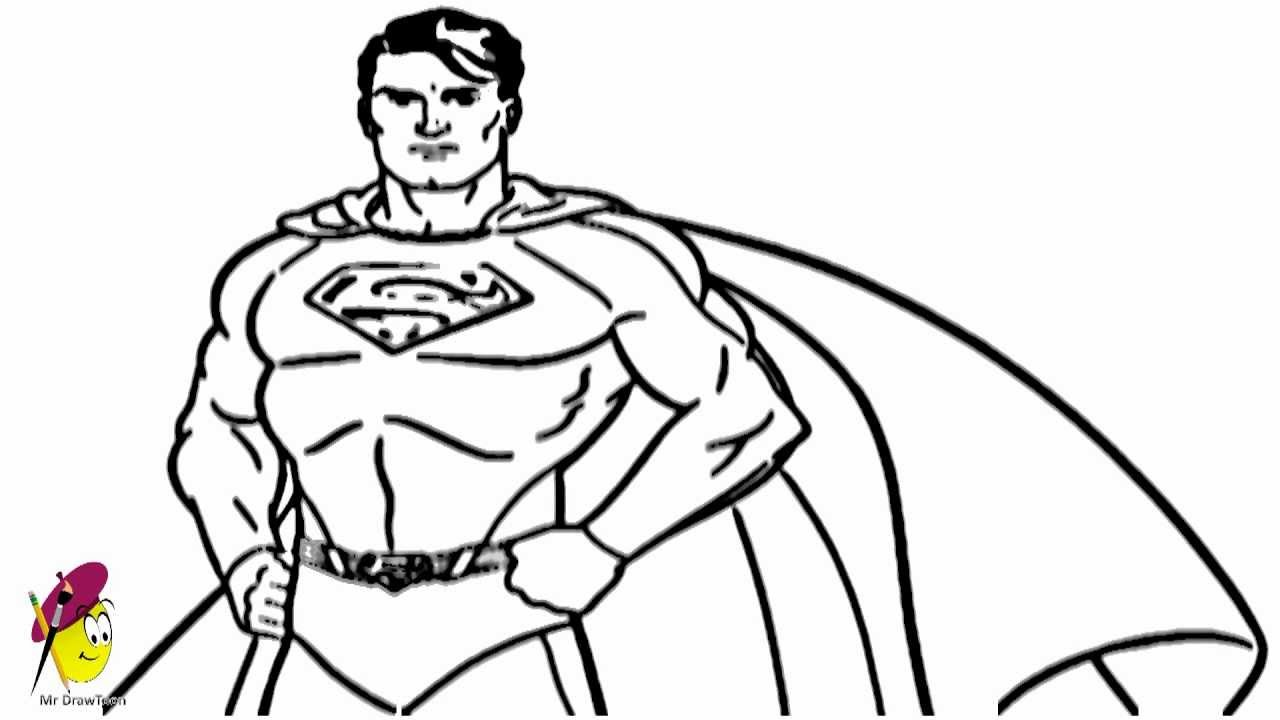 easy superman drawings - photo #12