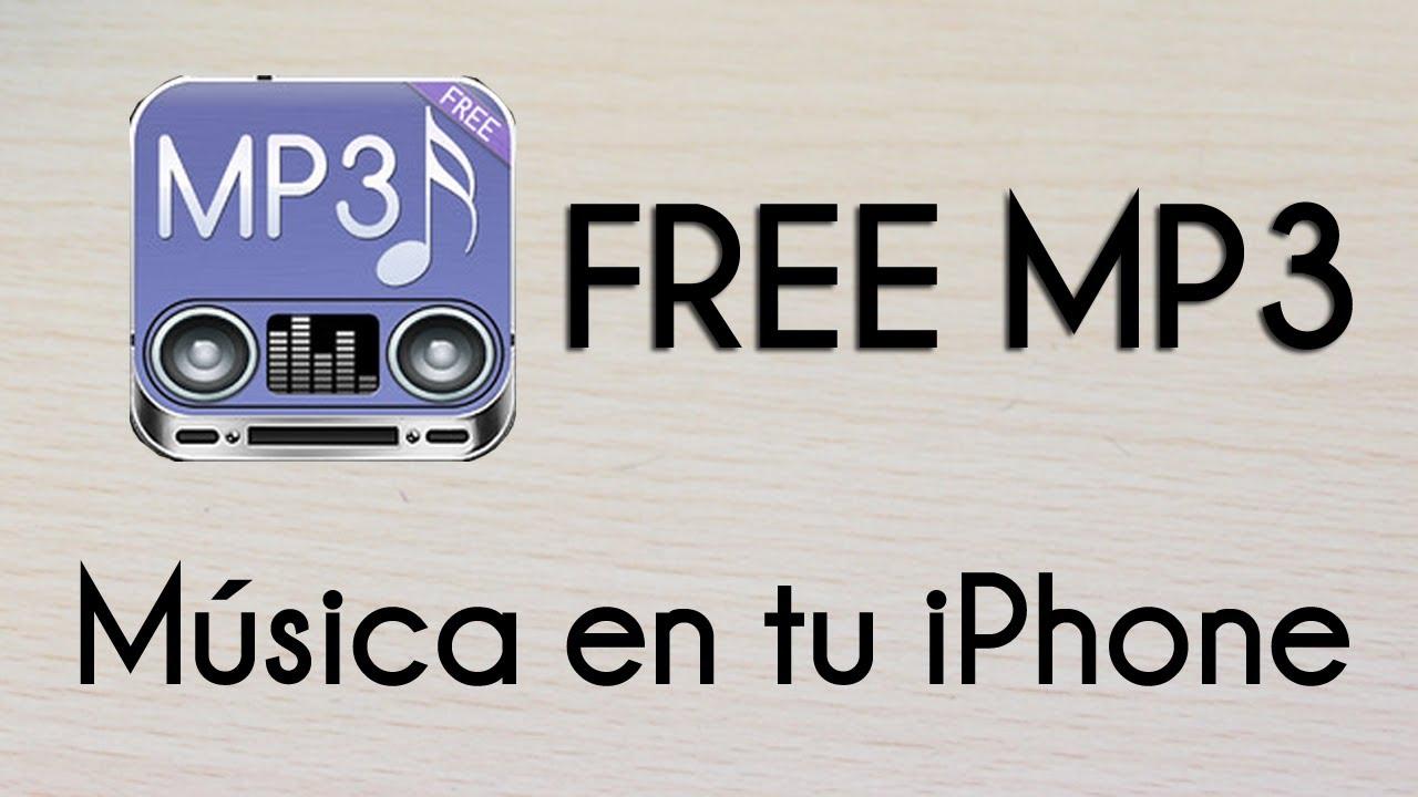 Descargar mp3 gratis iphone