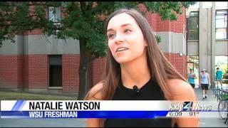 Freshman migration underway at WSU