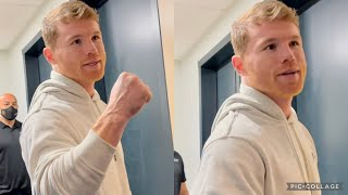 """CANELO TELLS FLOYD MAYWEATHER """"IT WAS AN HONOR TO FIGHT YOU, HE'S A GREAT FIGHTER, I LEARNED A LOT"""""""