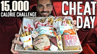 15,000 Calorie Challenge | Wicked Cheat Day #26
