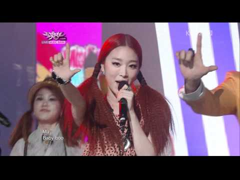 110218 Music Bank Mighty Mouth feat.Soya - Tok Tok