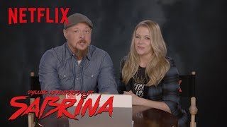 Chilling Adventures of Sabrina | The Cast of Sabrina The Teenage Witch Reacts | Netflix