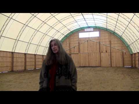 Grayspirit Farm 62' x 120' Atlas Building Series Riding Arena