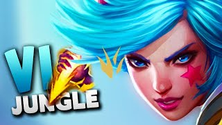 How to play VI JUNGLE in Season 9 (OP solo queue champion)
