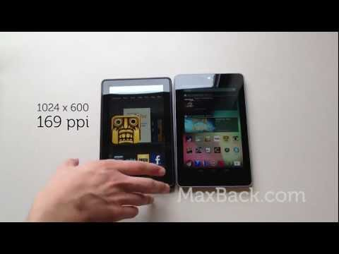 Nexus 7 VS. Kindle Fire - Top 10 reasons to buy the Nexus 7