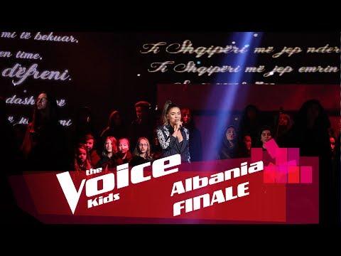 Elvana Gjata - Ti Shqipëri më jep nder - Më fal - Xheloz | Finale | The Voice Kids Albania 2018