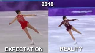 My 2018 EXPECTATION VS REALITY / Mirai Nagasu-Pyeongchang 2018