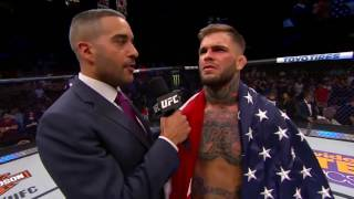 Fight Night Las Vegas: Cody Garbrandt Octagon Interview