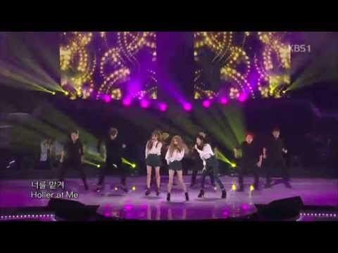 [HIT] 열린음악회-태티서(Girls' Generation-TTS) - Holler.20141019