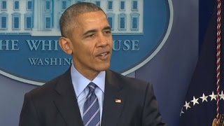 President Obama's final press conference of 2016