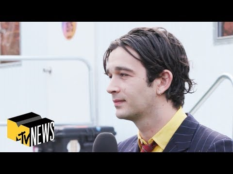Matty Healy on New Music & Potential The 1975 Festival | MTV News
