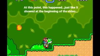 Super Mario World - TasPlayer's Code Executed the Creepiest Crash in SMW?